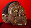 New Guinea Clay Covered Head